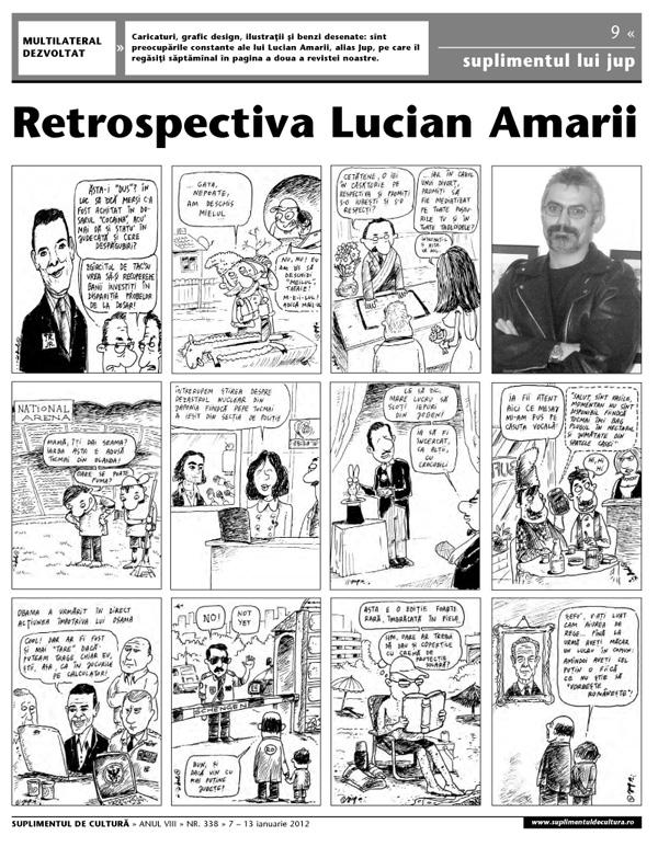 Retrospectiva Jup 2011 - Suplimentul de Cultura